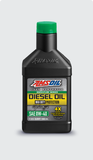 Signature Series Max-Duty Synthetic Diesel Oil 0W-40
