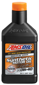 Signature Series 0W-40 Synthetic Motor Oil