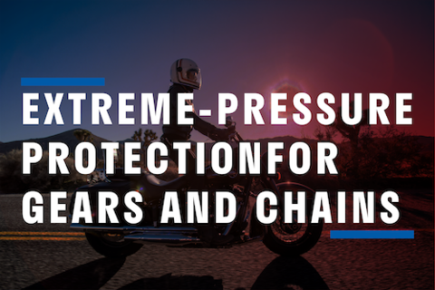 Extreme-Pressure protection for Gears and Chains