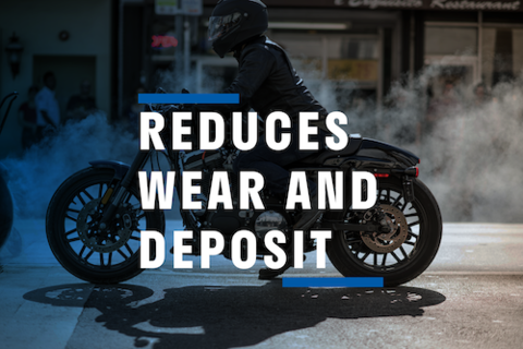 Reduces Wear and Deposit