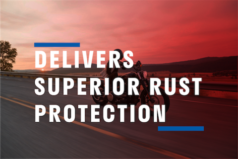Delivers Superior Rust Protection