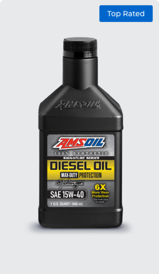 Signature Series Max-Duty Synthetic Diesel Oil 15W-40